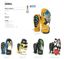 LEVEL GLOVES 15-16 ANIMAL Kids【60%OFF】