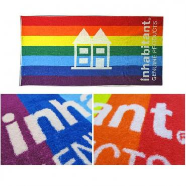 inhabitant RAINBOW SPORTS TOWEL